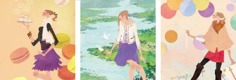 冊子/会報誌のイラストの画像