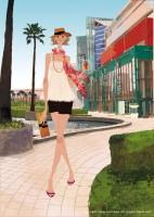 アジア太平洋トレードセンター館内ガイド表紙 2009年夏号 パンフレット カタログイラスト 吉岡ゆうこ