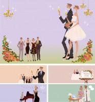 リクルートゼクシィnet『結婚準備完ペキマニュアル』 雑誌挿絵 吉岡ゆうこ(2009.7)