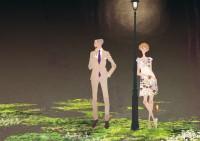 イラストレーション イラスト ファッションイラストレーション ファッションイラスト シック おしゃれ 男性 カップル 大人っぽい スーツ 吉岡ゆうこ