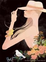 Original Works 2012年グループ展示作品 吉岡ゆうこイラスト(2013.1) No.003