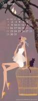 カレンダー 3月(2009年度版) 吉岡ゆうこオリジナルイラストカレンダー
