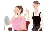 資生堂サイト ワタシプラス 化粧品専門店コンテンツ Webサイトイラスト 吉岡ゆうこ(2013.6) No.016