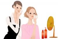 資生堂サイト ワタシプラス 化粧品専門店コンテンツ Webサイトイラスト 吉岡ゆうこ(2013.6) No.003