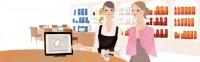 資生堂サイト ワタシプラス 化粧品専門店コンテンツ WebサイトTOPイラスト 吉岡ゆうこ(2013.6) No.009