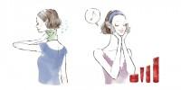 イラストレーション イラスト 線画 水彩風イラスト ファッションイラストレーション ファッションイラスト 吉岡ゆうこ