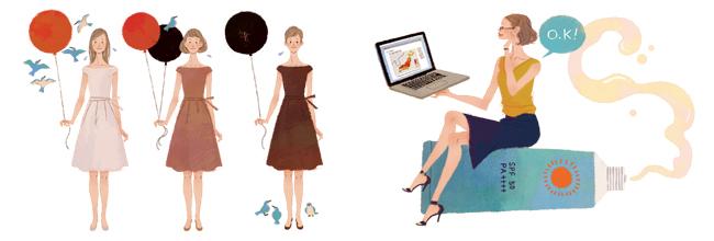 Webサイトのイラストの画像