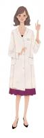 ファッションイラスト イラストレーション イラスト Finc 花王 アプリ 生理ラボ 女性 可愛い 上品 吉岡ゆうこ