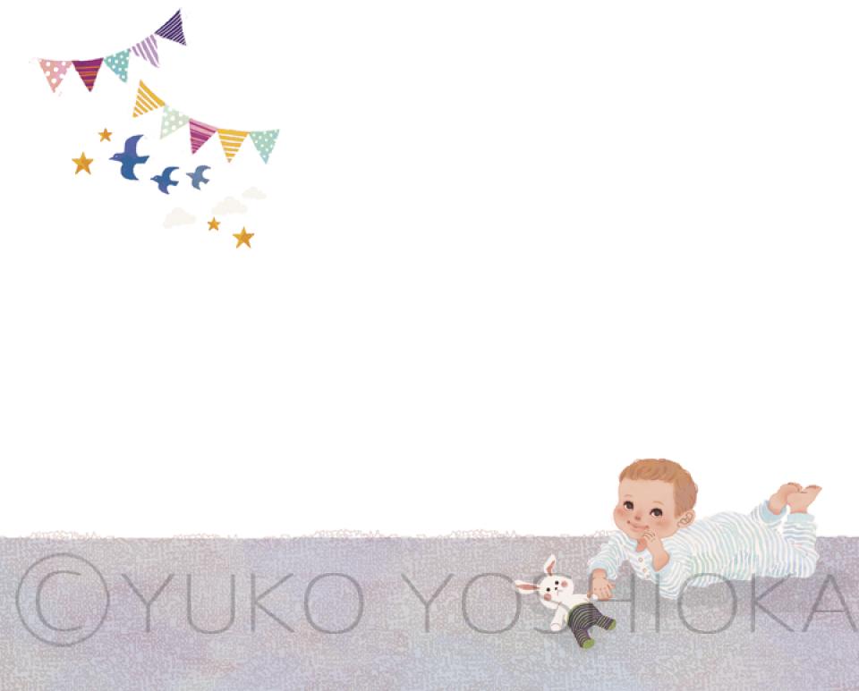 女性イラスト ファッションイラスト 赤ちゃんイラスト 赤ちゃん たまごクラブ 今月のHitアイテム 可愛い おしゃれ ほのぼの ライフスタイル 吉岡ゆうこ